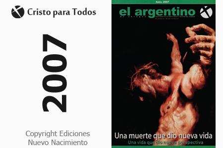 Revista publicada en Abril del 2007